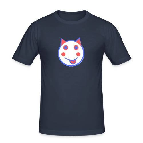 Red White And Blue - Alf Da Cat - Men's Slim Fit T-Shirt