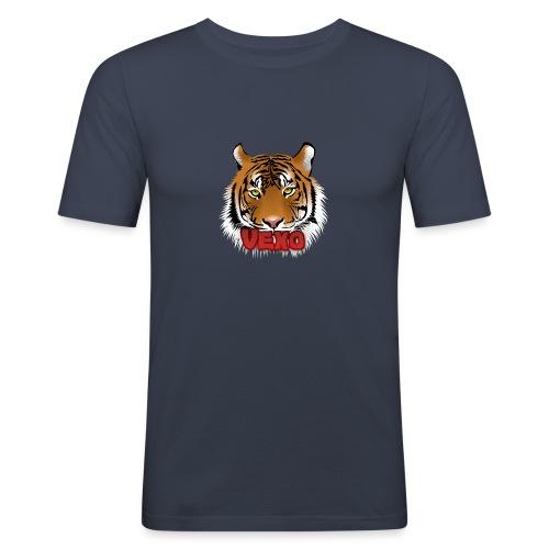 Vexo Logo - Men's Slim Fit T-Shirt