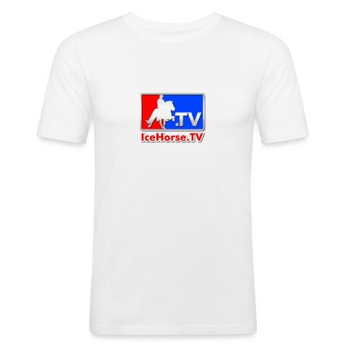 IceHorse logo - Men's Slim Fit T-Shirt