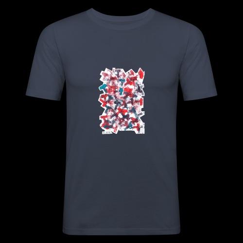 Color T BY TAiTO - Miesten tyköistuva t-paita