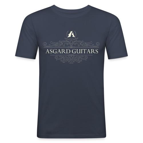 AGpaitakoukero beige - Miesten tyköistuva t-paita