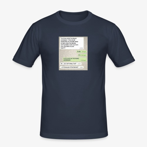 Humor - Slim Fit T-skjorte for menn