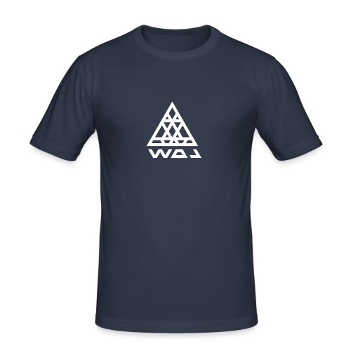 Triangel Konst - Slim Fit T-shirt herr