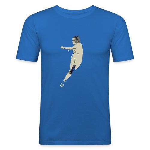 JAIMY VISSER - Mannen slim fit T-shirt