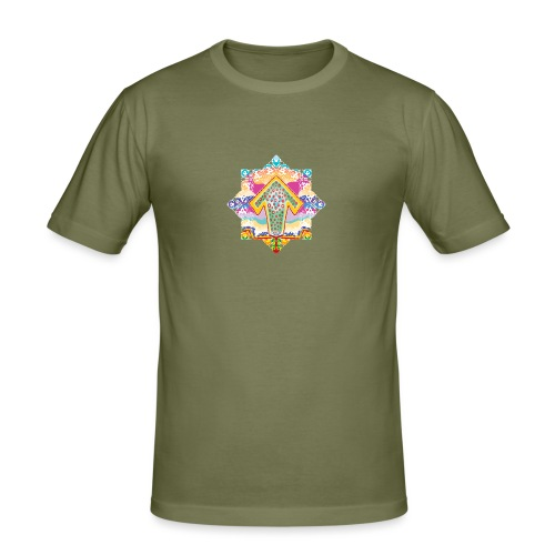 decorative - Men's Slim Fit T-Shirt