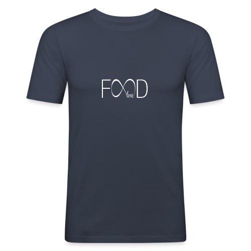 foodlove - Mannen slim fit T-shirt
