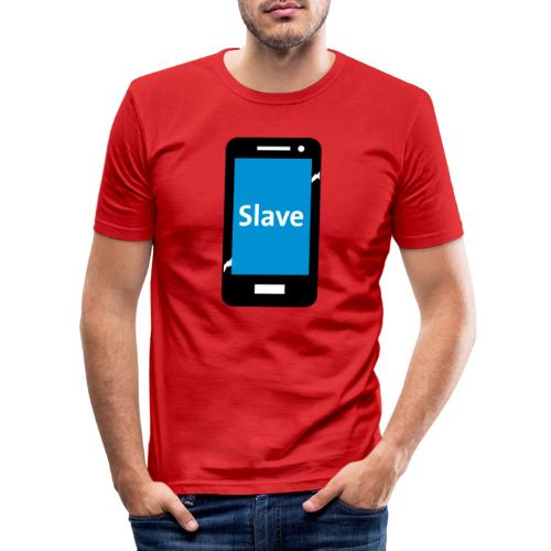 Slave to my phone 1 - slim fit T-shirt