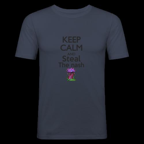 Steal the nash - Mug - T-shirt près du corps Homme