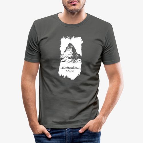 Matterhorn - Cervino - Men's Slim Fit T-Shirt