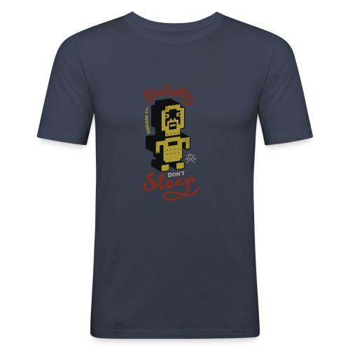 Vintage Robots - Camiseta ajustada hombre