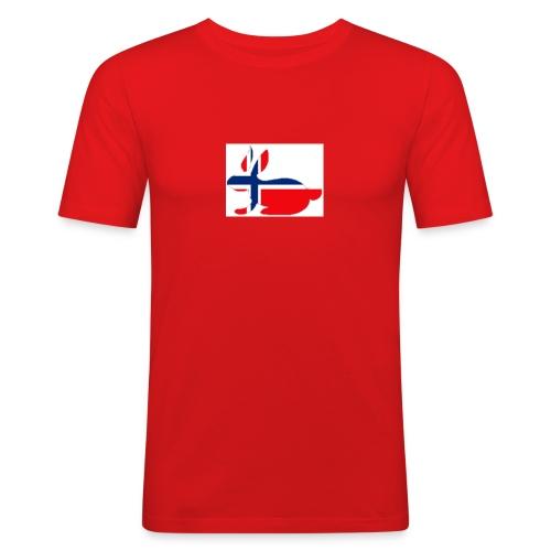 bunny_NY_LOGO_LI - Men's Slim Fit T-Shirt