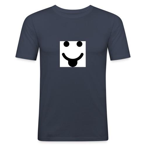 smlydesign jpg - Mannen slim fit T-shirt