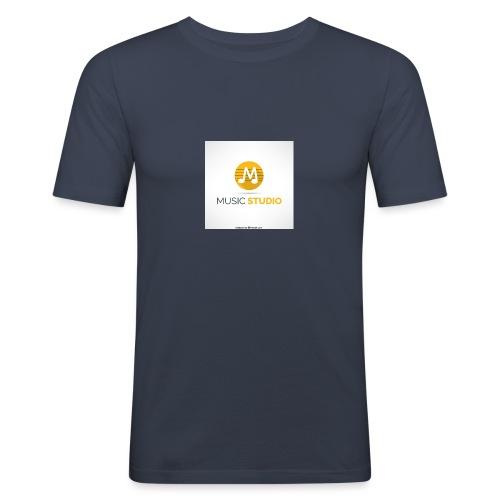 music studio tienda - Camiseta ajustada hombre