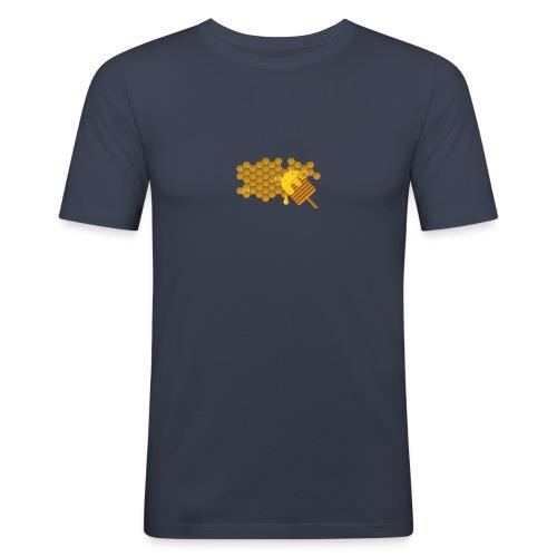 honeycomb - T-shirt près du corps Homme