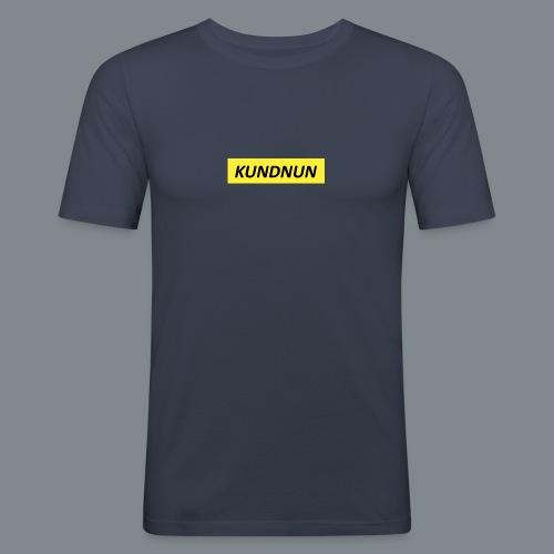 Kundnun official - Mannen slim fit T-shirt