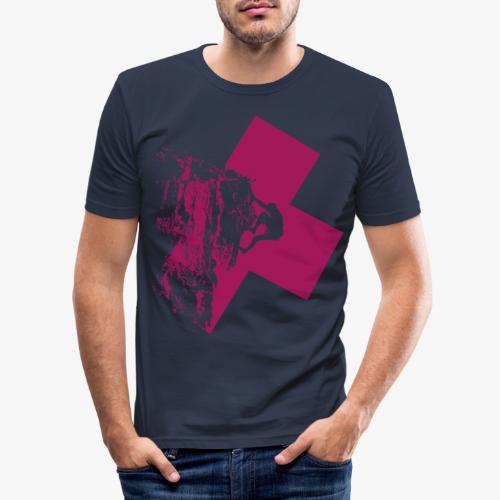 Climbing away - Men's Slim Fit T-Shirt