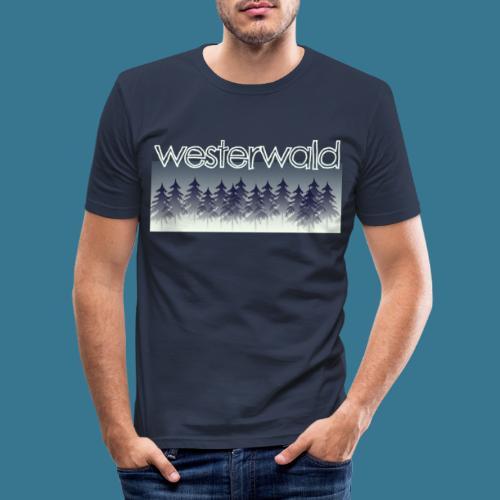 Mystischer Westerwald. - Männer Slim Fit T-Shirt