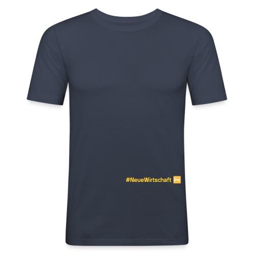 neuewirtschaft png - Männer Slim Fit T-Shirt