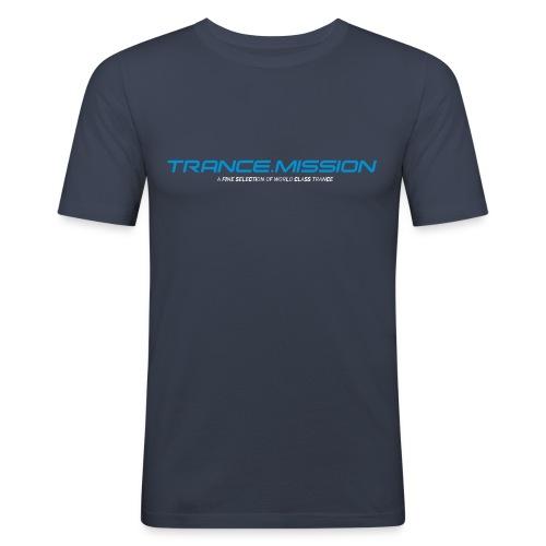 tshirt schwarz - Männer Slim Fit T-Shirt