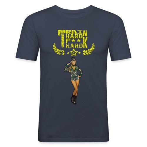 trainhard - T-shirt près du corps Homme