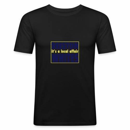 BEESTON WHITES - Men's Slim Fit T-Shirt