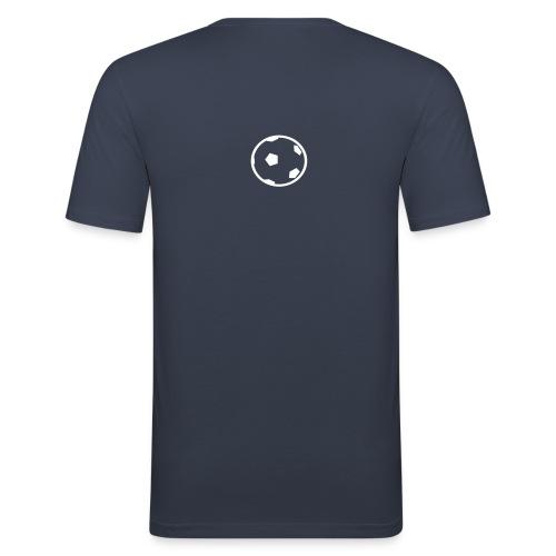 Unterwasser-Rugby Ball - Männer Slim Fit T-Shirt