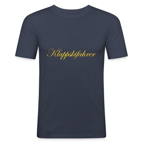 klappskifahrer emb - Männer Slim Fit T-Shirt