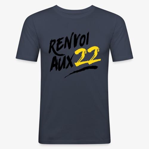 Renvoiaux22 - T-shirt près du corps Homme