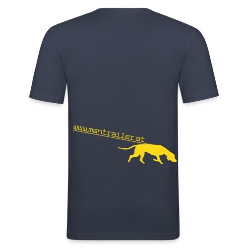Mantrailer.at Logo V1 - Männer Slim Fit T-Shirt