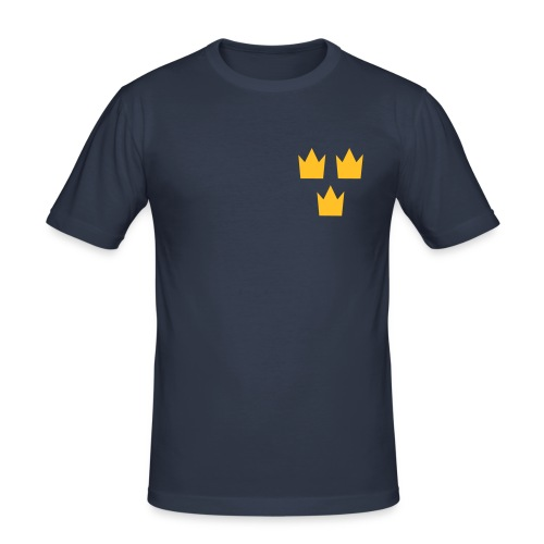 crowns - Slim Fit T-shirt herr
