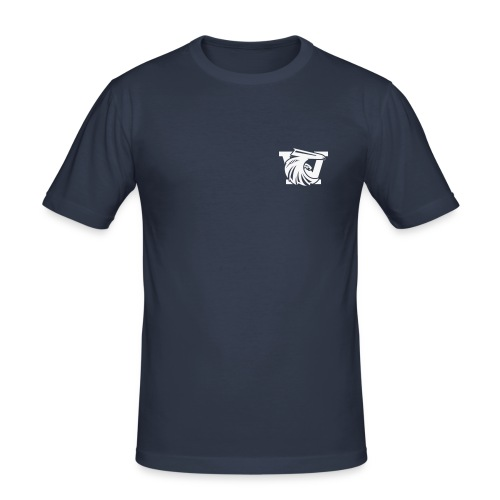 logo_we - T-shirt près du corps Homme