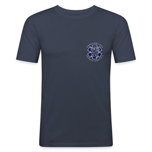 logo blue lion - T-shirt près du corps Homme