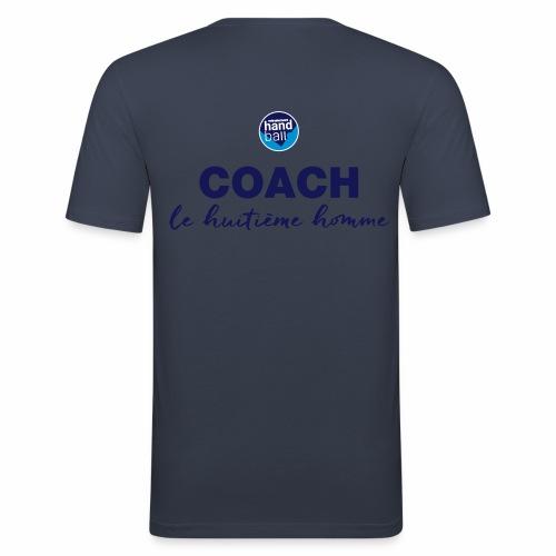 Le Coach le 8e homme d'une équipe de Handball - T-shirt près du corps Homme