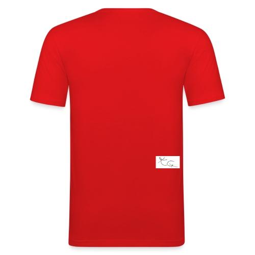 kggrafitti - Slim Fit T-skjorte for menn