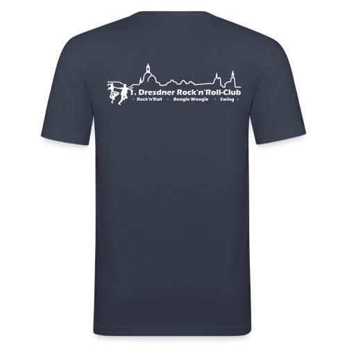 Logo Boogie - Männer Slim Fit T-Shirt
