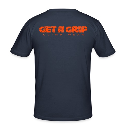 getagripclimbwearlogo02b - Slim Fit T-skjorte for menn
