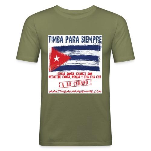 LOGO TPS png - Men's Slim Fit T-Shirt