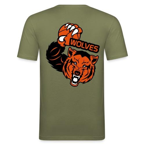 Wolves Basketball - T-shirt près du corps Homme