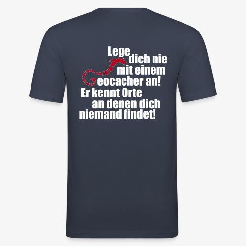 Leg' dich nicht mit uns an! - Männer Slim Fit T-Shirt