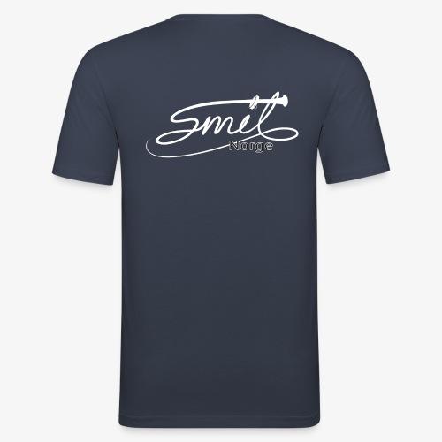 Smil Norge - Slim Fit T-skjorte for menn