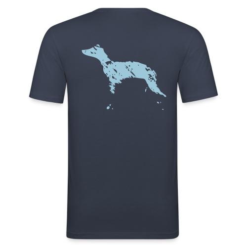 whippet abstrait - T-shirt près du corps Homme