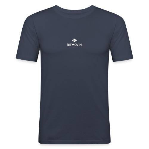 bitmovin logo standard no - Männer Slim Fit T-Shirt