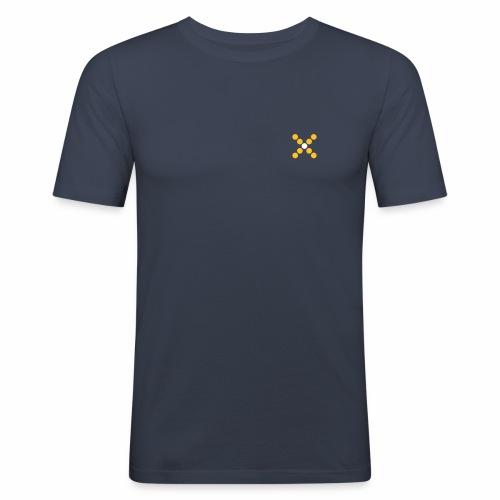 lmn symbol - Männer Slim Fit T-Shirt