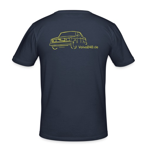 volvo240 de - Männer Slim Fit T-Shirt