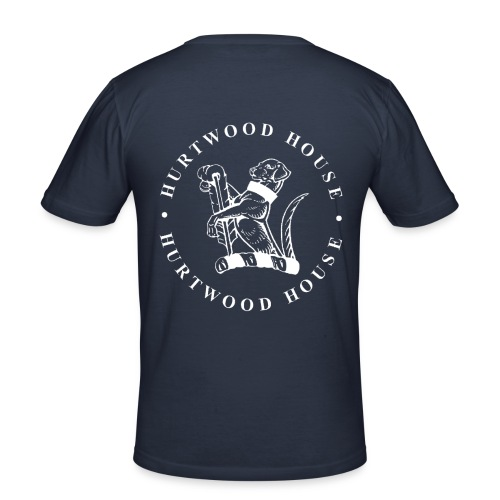 dogwhite - Men's Slim Fit T-Shirt