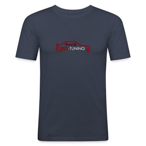 VKG Logo - Herre Slim Fit T-Shirt