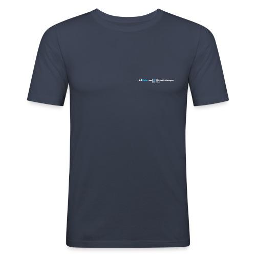 FotoITExner_Logo - Männer Slim Fit T-Shirt
