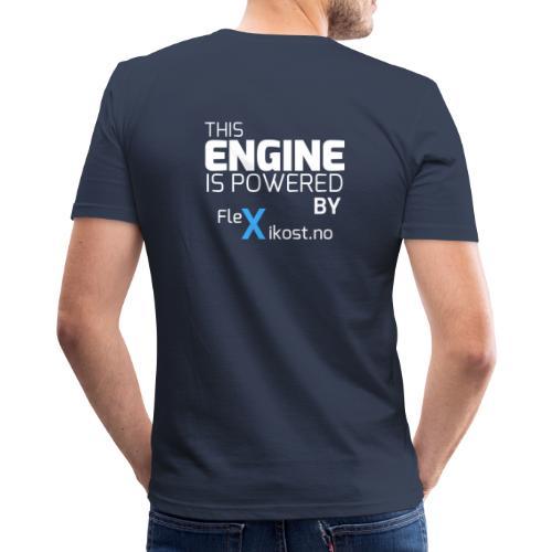 this engine - Slim Fit T-skjorte for menn
