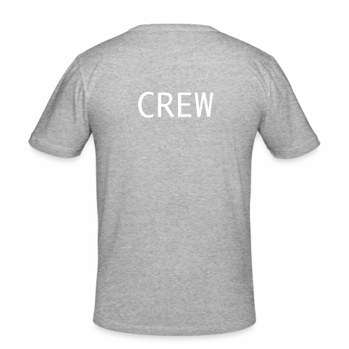 Crew Shirt - Männer Slim Fit T-Shirt