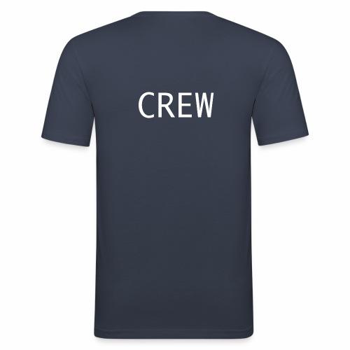 Crew Shirt - Männer Slim Fit T-Shirt